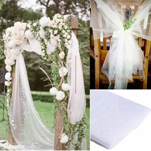 Table skirt runner Chair Sash Wedding arch Stair flower package Valance bridal shower Bachelorette Hen Party Decoration backdrop
