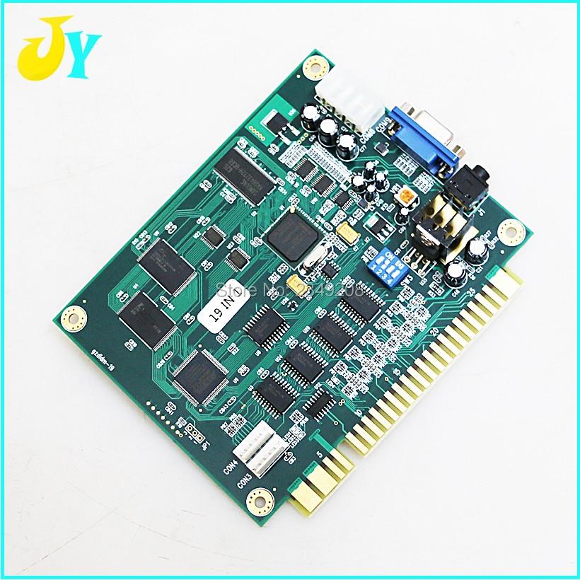Arcade Jamma 19 in 1 Classical Game PCB for jamma multi board Arcade Slot PCB