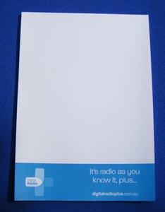 A5-storlek anteckningsblock, CMYK-utskrift, PR-användning, anpassad, 50sheet / pc 100pcs / lot