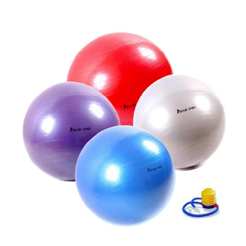 Livraison gratuite authentique grande balle de yoga fitness balle 65 cm environnement enceinte yoga balle épaississement explosion
