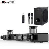 JY Audio Soundbar колонки домашнего Театр DTS 2,1 Virtual Surround Саундбар для ТВ объемного звучания Системы Беспроводной Bluetooth Динамик