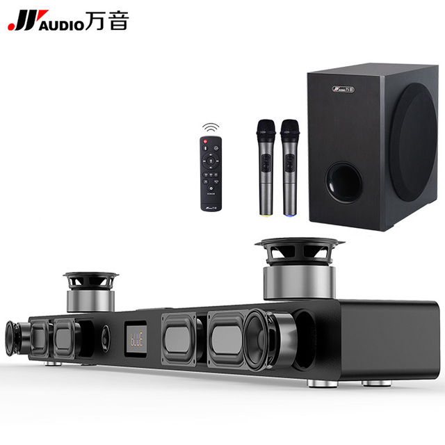 JY Audio Soundbar Column Home Theater DTS 2.1 Virtual Surround