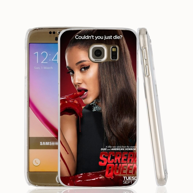 Ariana Grande Cat cell phone case cover for Samsung Galaxy S7 edge PLUS S8 S6 S5 S4 S3 MINI