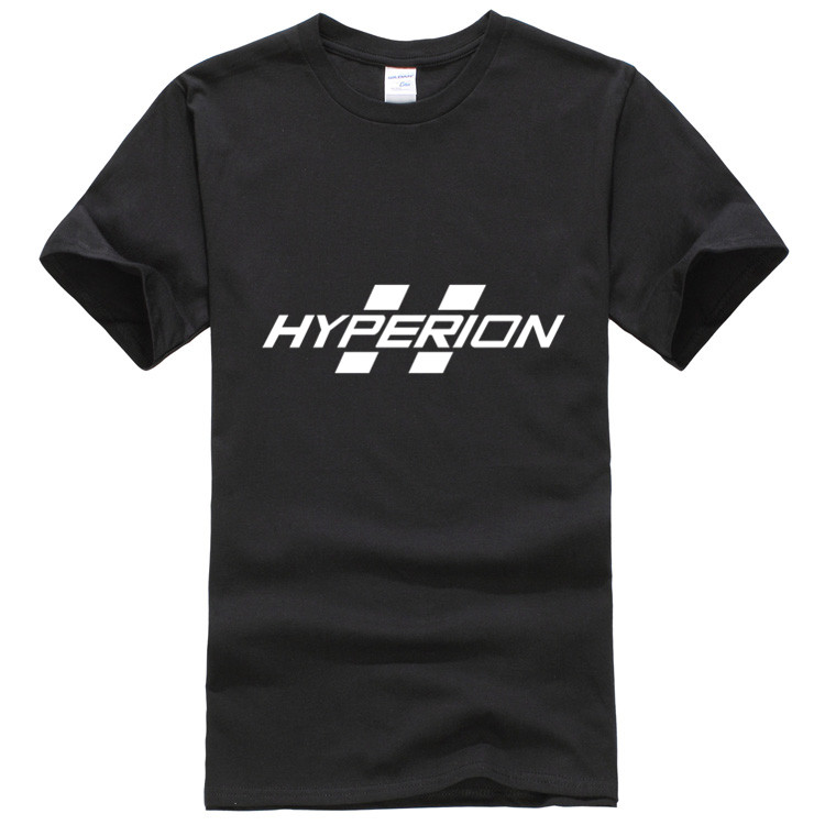 T Shirts Mens Borderlands Hyperion LOGO T Shirt Mens