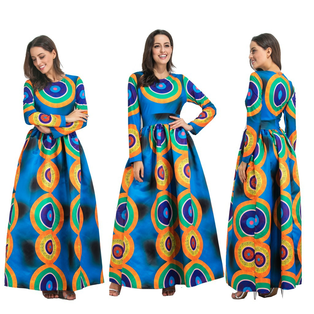 Robe Africaine: Aliexpress.com : Buy African Dresses Polyester Women