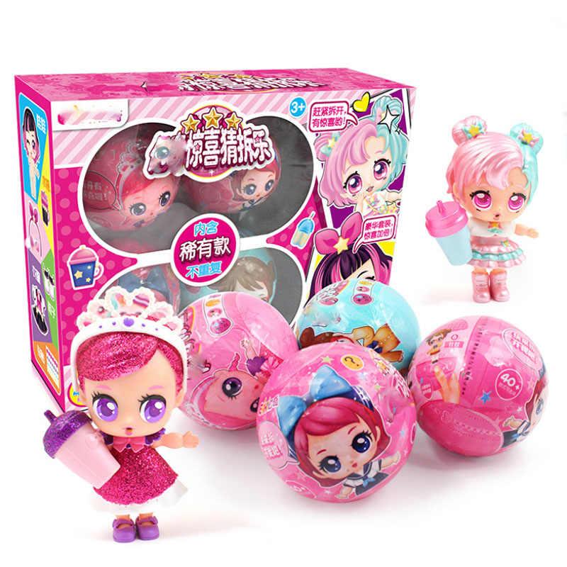 Gerar caixa 1 Eaki Original II Surpresa lol Boneca Crianças Enigma Toy Kids Engraçado DIY Brinquedos Boneca Princesa Caixa Original vários Modelos