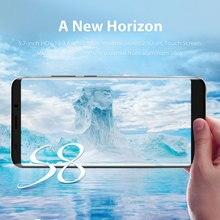 Weippo 5.7″ 18:9 display fingerprint Smartphone MTK6763 2970mAh 2G RAM 18G ROM S8 mobile phone
