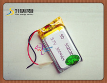 502030 lighter lithium battery 3.7v 300MAH small speakers point reading pen mp3 Bluetooth cell battery