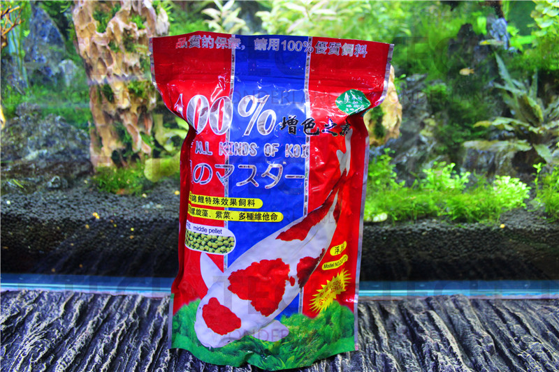 100% Hyperchromic Feed Containing SPIRULIAN And CAROTENE Premier Fish Food For All Kinds Of KOI 480g