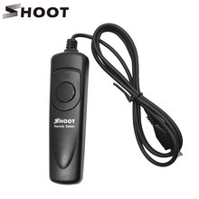 SHOOT LCD Timer Remote Control Shutter Release Cable RM-VPR1 For Sony Alpha A7/A7r/A5000/A6000/A58/RX100II/RX100M3/NEX-3N fotga rm vs1 remote control shutter release cord with multi terminal cable for sony a7 a7r a7s a7ii a7rii a7sii a7m2 a7rm2 a7s2