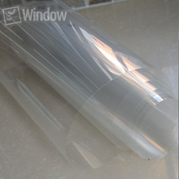 50cm X 4m 4mil Safety Security Window Film Clear Anti Shatter Prevent Paint Oxidation Furniture