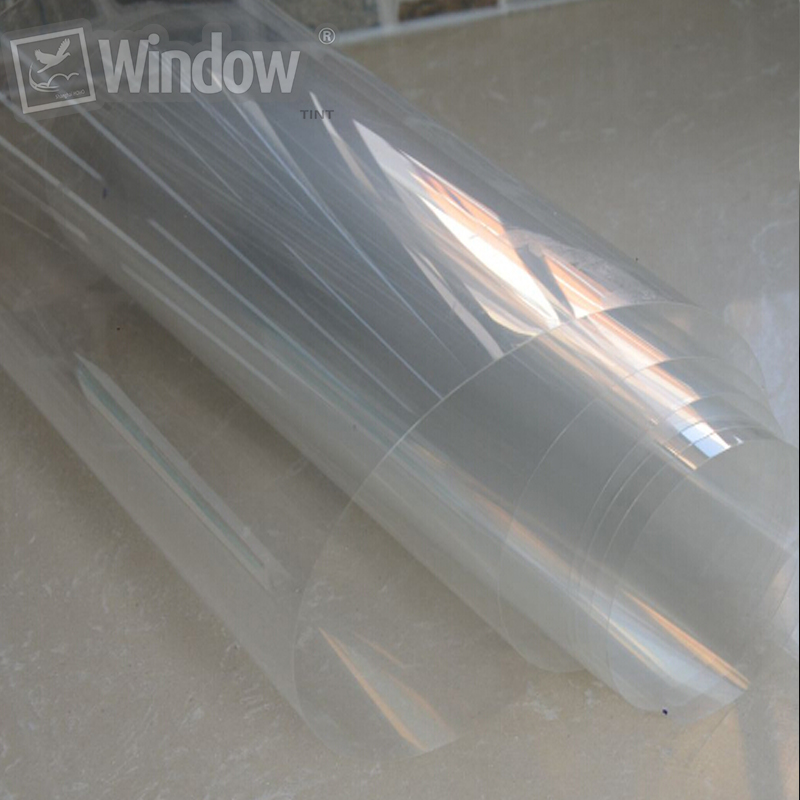50cm x 3m 4mil Safety Security Window Film Clear Anti Shatter Prevent Paint oxidation Furniture