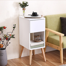 Side a few corner cabinet Sideboard living room sofa small apartment minimalist side table coffee square mobile teasideend