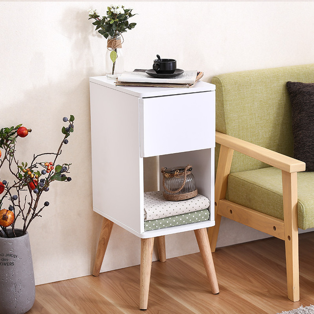 Sisi Beberapa Bufet Lemari Sudut Ruang Tamu Minimalis Sofa Apartemen Kecil Meja Kopi Gi Ponsel