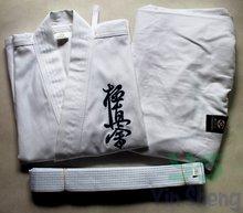 초보자를위한 가라데 의류 어린이 성인 kyokushin 가라데 kyokushinkai 유니폼 Kata karategi 초보자를위한 연습