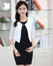 Formal OL Styles Uniform Designs Business Women Dress Suits Jackets And Dress Work Sets Fashion Ladies
