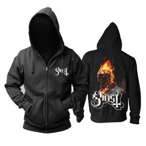 Image 4 - Sanguhoof fantôme hommes haut heavy metal musique coton nouveau sweat à capuche taille asiatique