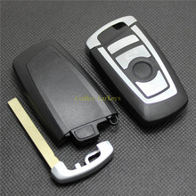 PINECONE Key Case for BMW 3 5 7 Series X3 X5 X6 E90 320 520 730 4 Buttons Car Remote Shell Cover With Uncut Blade 1PC