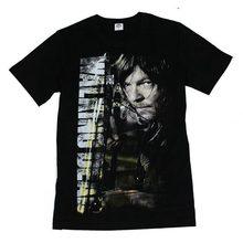 The Walking Dead Футболка Мужчины Daryl T Shirts Летняя забавная футболка с коротким рукавом из хлопка Homme M-5XL Одежда для полотенец Hombre