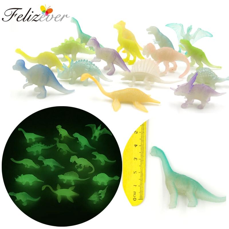 48 Mini Plastic Dino Dinosaur Figures Birthday Party Goody Bag Favor Pinata Toy