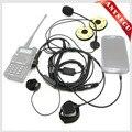 Мотоцикл Половина Шлем клоуз Микрофон Гарнитуры 3.5 мм/K1 Разъем MIC-HF-3.5L + K1 для радио Baofeng WOUXUN TYT/мобильный Телефон