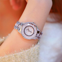 New Hot-selling Watch High-end Linked Dial Movable Rhinestone Female Fashion & Casual  Chronograph