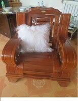 Genuine Mongolian Pilow Tibet Lamb Pillow Fur Pillow Floor Cushion 20 X20