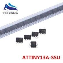 10 pièces/lot 2019 nouveau modèle ATTINY13 ATTINY13A TINY13A MCU AVR 1K FLASH 20MHZ 8SOIC IC (ATTINY13A SSU)