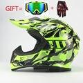 Motocicleta Protectora Motor Motocross Cascos DH Casco Off-road de Carreras de Motos de Carretera envío gratis