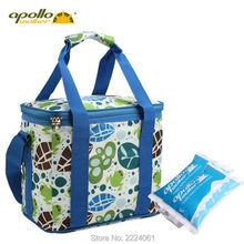 Apollo индивидуальные сумка-холодильник 12L большой объем алюминиевой фольги тепловой bag Oxfod 600D Pinic холодного хранения пищи обед мешок
