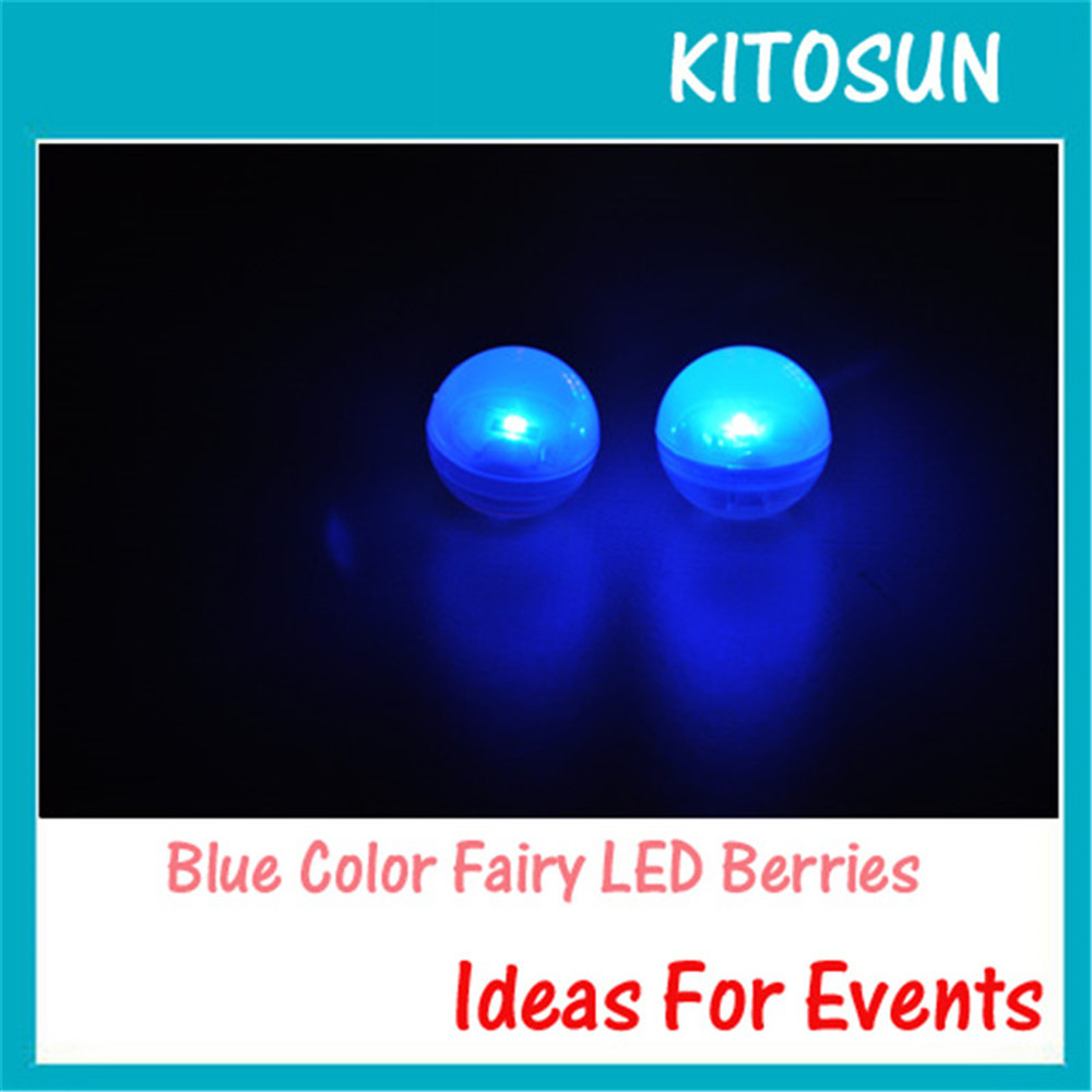 Kitosun 12 Colors Battery Operated LED Light Firefly Effect Floating LED Fairy Light for Wedding Party Events Decoration