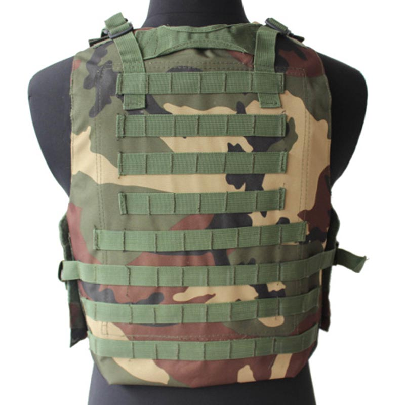 Military Tactical Army Vest Plate Carrier Airsoftsports Combat Amphibious Vest Paintball Hunting Clothing