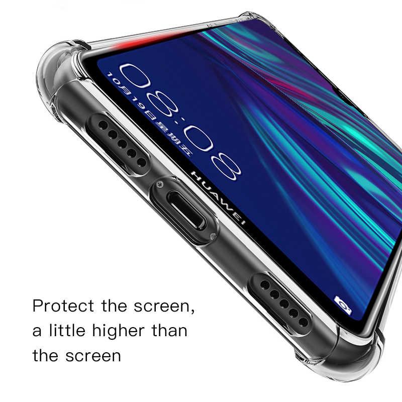 Soft Clear TPU Case For Huawei Y9 Y7 Y6 Pro P Smart Plus 2019 Y5 Y9 Y7 2018 Nova 3 3i 4 Case For Huawei Honor 7A 7C Pro
