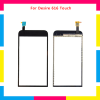 5pcs/lot high quality Touch Screen Digitizer Sensor Outer Glass Lens Panel For HTC Desire 616 D616 D616w