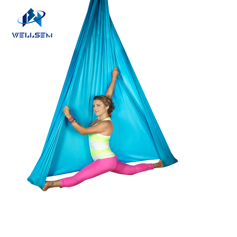 6meter sets home flying Yoga Hammock Swing Trapeze Anti-Gravity Inversion Aerial Traction Device with daisy chain +carabiner leisure decompression hammock inversion trapeze anti gravity aerial traction yoga gym swing hanging daisy chain carabiners