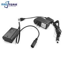 AC FZ100 Power bank usb cable+NP FZ100 FZ100 VG C3EM dummy battery+5V3A charger for Sony Alpha A9 A7RM3 A7RIII a7iii A7M3 ILCE 9
