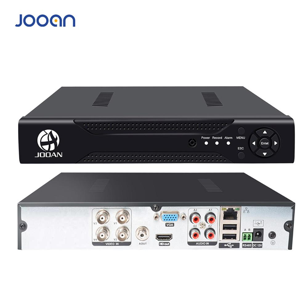 JOOAN 4CH 8CH 16CH CCTV DVR Security System 1080N H.264 HD-utgång P2P Hybrid 5 i 1 Onvif IP-kamera TVI CVI AHD Video Recorder