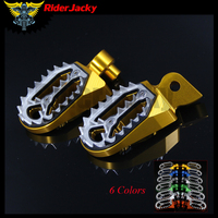 CNC Aluminum Motorcycle foot rests footrest footpegs Pegs Pedals For Yamaha WR250F WR 250F 1999 2015 2000 2001 2012 2013 2014