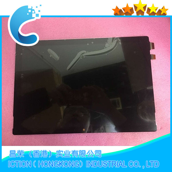 Original 1796 asamblea para Microsoft surface pro 5 modelo 1796 LP123WQ1 (SP) (A2) pantalla lcd pantalla táctil vidrio digitizer Asamblea
