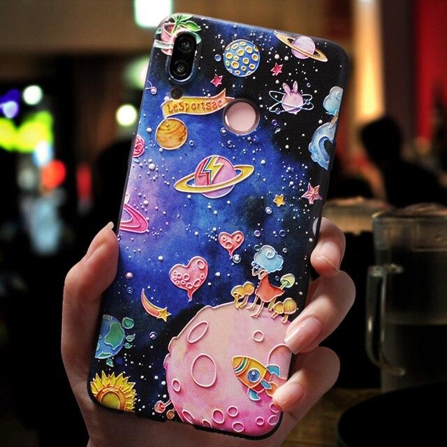Coque 3D en Relief pour Huawei P30 Mate 20 10 P20 P8 P9 P10 Lite 2017 Mini Pro P Smart 2019 Honor 8X 10 Coque de jeu