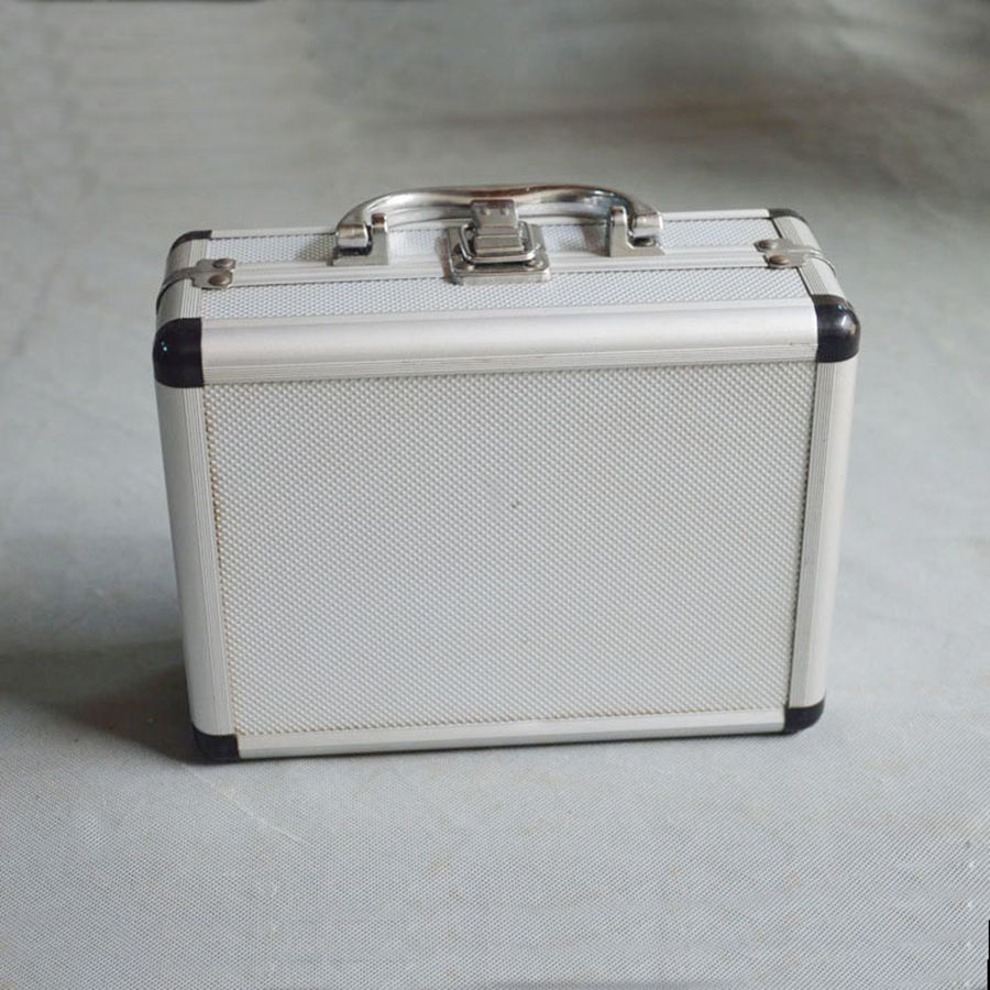 Multi-function Aluminum Alloy Tool Box Strong And Sturdy Tool Box Resistant To Grinding Plastic Angle Large Space Tool Box multi function aluminum plastic storage box silver