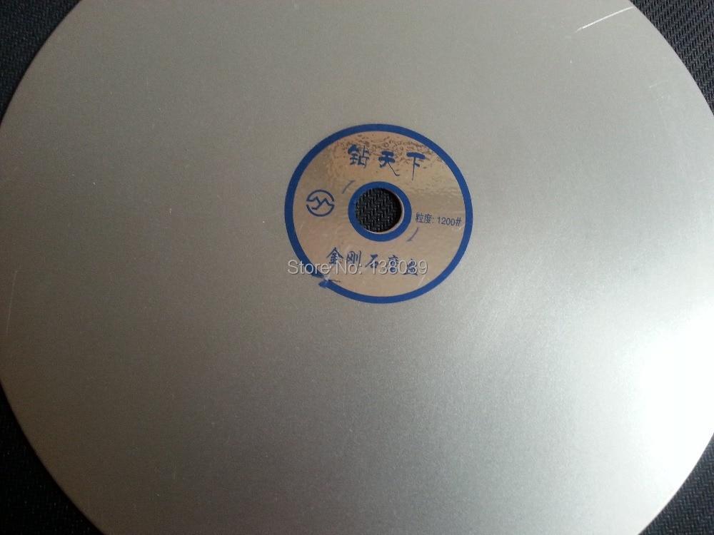 Diamond  Flat Polishing Lap Disc 10 INCH  For Jewelry Stone , Jewel's Polishing Tools Disc Grit #1200