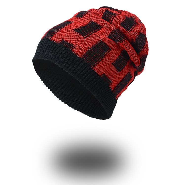 Double-sided Beanie Casual Brand Men women Winter Hats Fur Warm Baggy Knitted Skullies Bonnet Ski Sports Adult Cap New Arrival 2017 top fashion promotion adult winter caps bonnet femme warm ski knitted crochet baggy beanie hat skullies cap hiphop hats