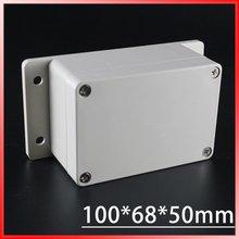 100 68 50mm 2015 Wholesale Plastic Waterproof Junction Box ABS Junction Box Waterproof Enclosure Plastic Terminal