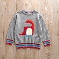 New Autumn Winter Garment Children Boy Cartoon Dinosaur Jacquard Sweater Turtleneck Sweaters Kids Boys Tops Clothes