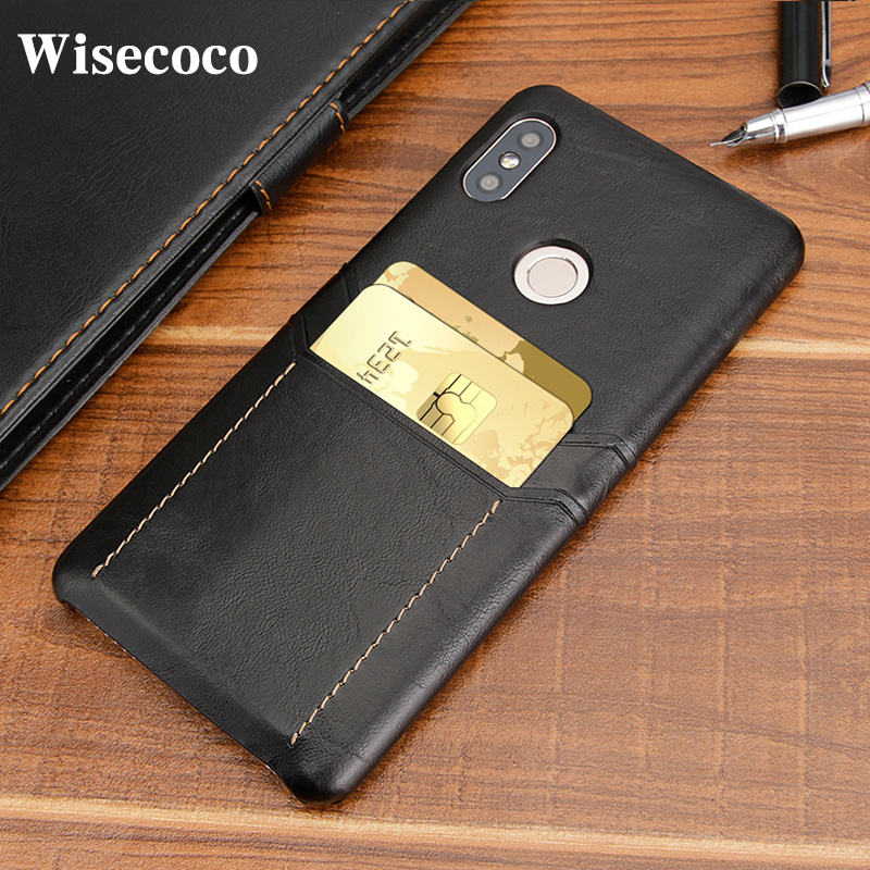 buy popular 82558 3678c US $4.34 13% OFF|Card Holder Wallet Phone Case for Xiaomi Redmi Note 5  Global Luxury Leather Shockproof Hard Back Cover Mi Redmi Note 5 Pro  India-in ...