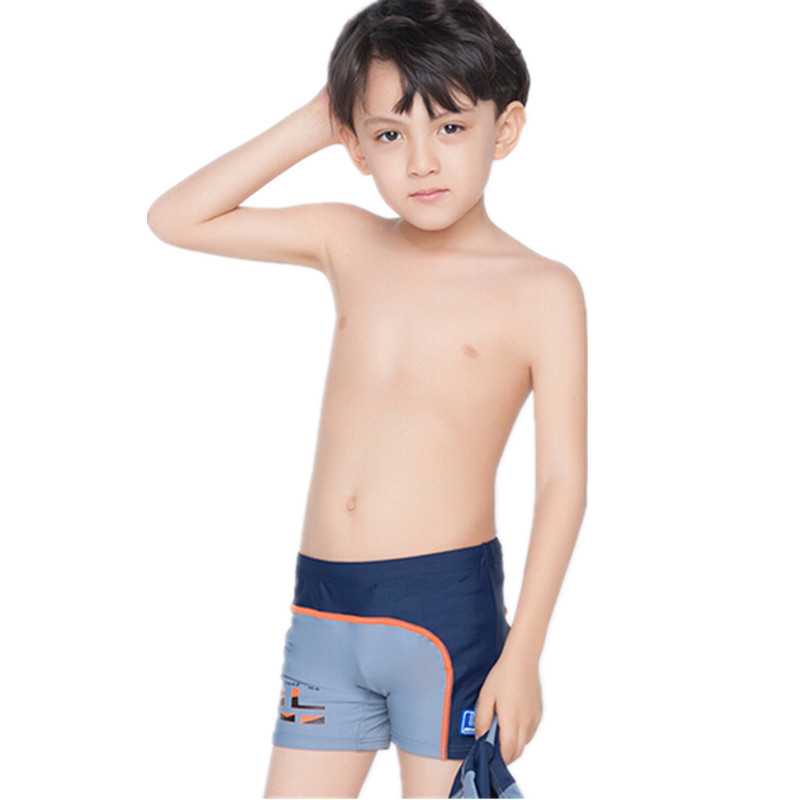 Childrens swimming trunks with swimming cap boys swimwear kids 6T-14T swimsuit boy bathing suits kids swim wear costume