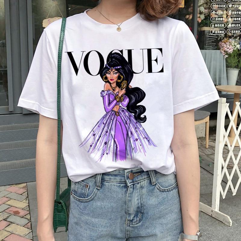 New Graphic Vogue T Shirt Women Fashion Harajuku Ullzang Cartoon T-shirt Funny Printed 90s Tshirt Korean Style Top Tees Female 15