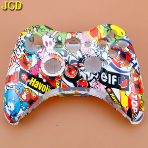 Image 4 - JCD For XBox 360 Wireless Game Controller Hard Case Gamepad Protective Shell Cover Full Set W/ Buttons Analog Stick Bumpers
