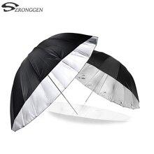 """Godox 150 cm 60 """"polegadas fotografia estúdio guarda chuva para estúdio de fotografia de iluminação suave para fora em preto dentro de prata guarda chuva"""